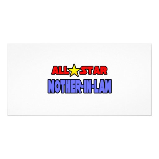 All Star Mother-In-Law Photo Card