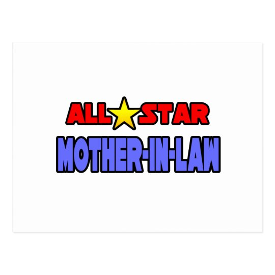 All Star Mother-In-Law Postcard