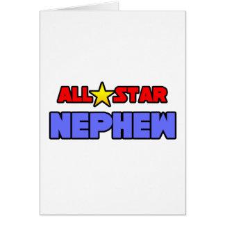 All Star Nephew Greeting Card