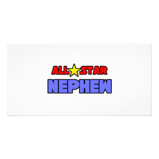 All Star Nephew Photo Card