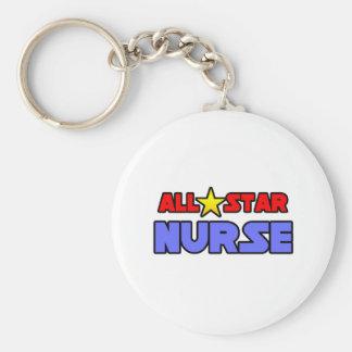 All Star Nurse Key Chain