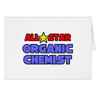 All Star Organic Chemist Greeting Card