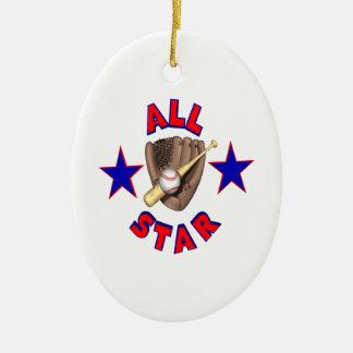 All Star Christmas Ornaments
