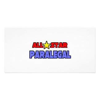 All Star Paralegal Picture Card
