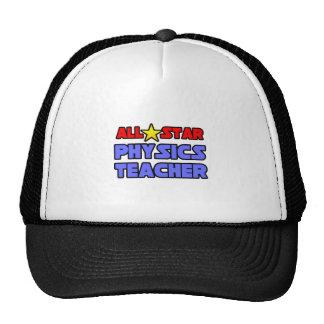 All Star Physics Teacher Trucker Hat
