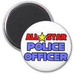 All Star Police Officer Magnets