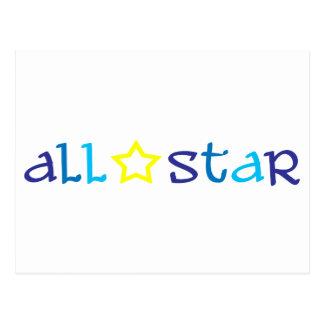 All Star Postales