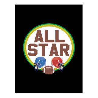 All Star Postcard