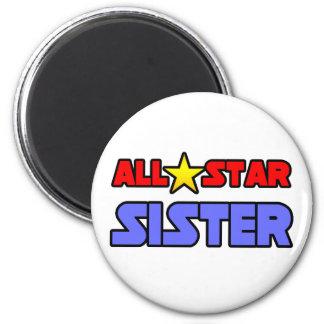 All Star Sister Magnet
