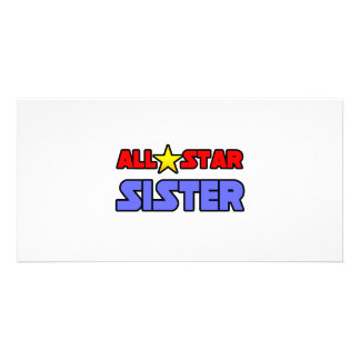 All Star Sister Photo Card