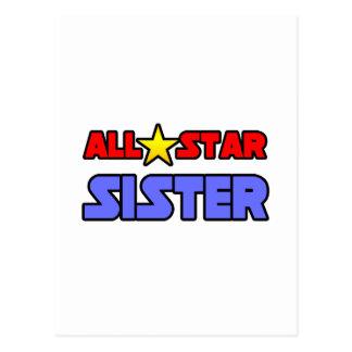 All Star Sister Postcard