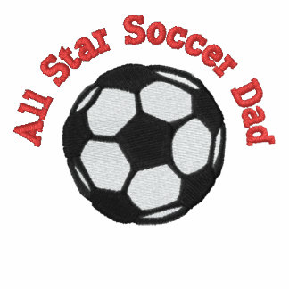 All Star Soccer Dad Polo Shirts