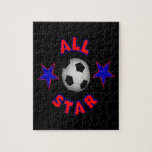 All Star Soccer Puzzle