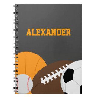 All Star Spiral Notebook