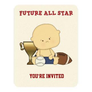 All-Star Sport Baby Shower Invitation