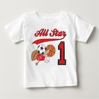 All Star Sports 1st Birthday Infant T-shirt