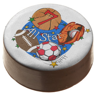 All Star Sports 7th Birthday Dipped Oreos Chocolate Covered Oreo