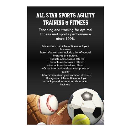 All Star Sports Balls w/ Brick Wall flyer