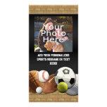 All Star Sports Balls w/ Brick Wall Photo Card