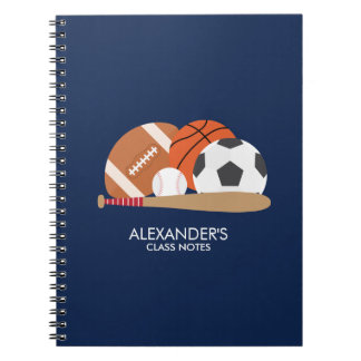 All Star Sports Fan Notebook