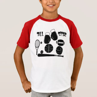 """""""All Star Sports"""" T-Shirt"""