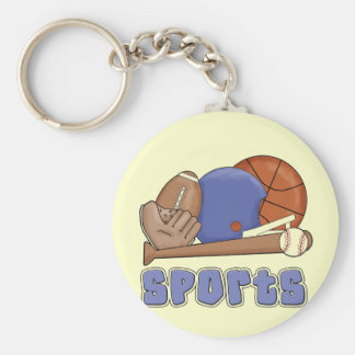 All Star Sports Tshirts and Gifts Keychain