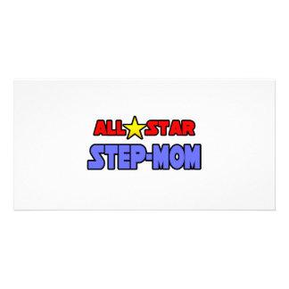 All Star Step-Mom Photo Card Template