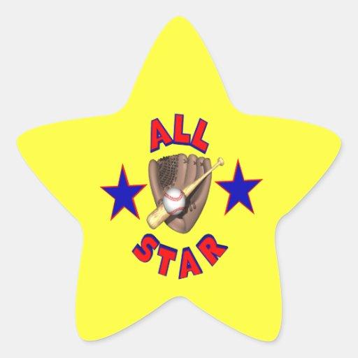 All Star Star Stickers