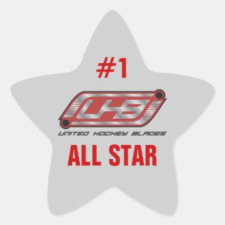 All Star Star Sticker