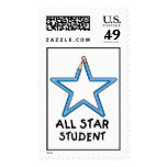 All Star Student Postage Stamps (LARGE)