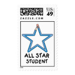 All Star Student Postage Stamps (MEDIUM)
