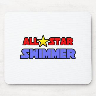 All Star Swimmer Mouse Pads