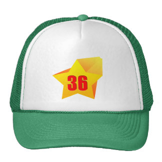 All Star Thirty Six years old! Birthday Trucker Hat