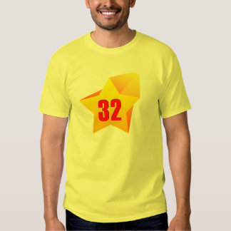 All Star Thirty Two years old! Birthday Shirt