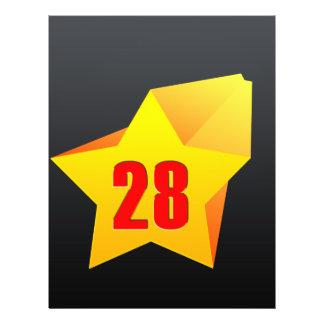 All Star Twenty Eight years old! Birthday Flyer