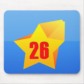 All Star Twenty Six years old! Birthday Mouse Pad