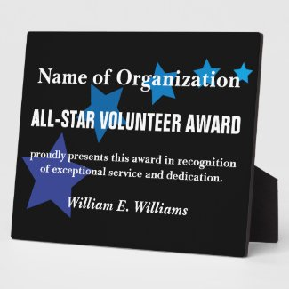 Words for plaque for volunteer | just b.CAUSE