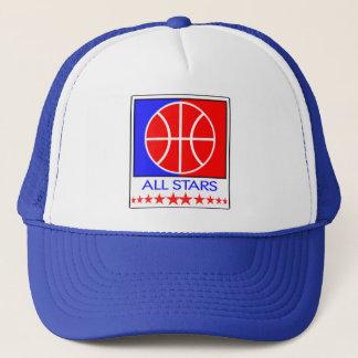 All Stars Basketball Cap
