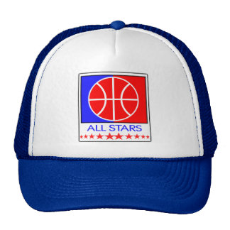 All Stars Basketball Cap Trucker Hat