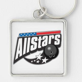 All Stars Bowling Keychain
