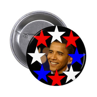 ALL STARS OBAMA Commemorative Button