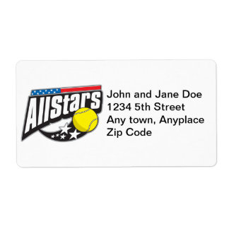 All Stars Tennis Label