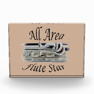 All State Area Flute Player Award Plaque ANY COLOR