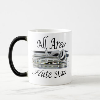 All State Area Flute Player Coffee Mug ANY COLOR