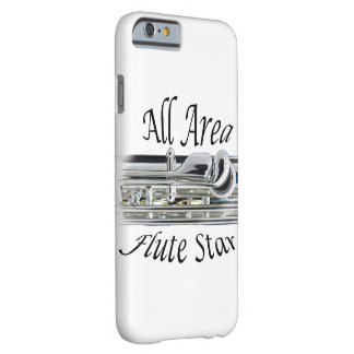 All State Area Flute Player Iphone, Ipad, Barely There iPhone 6 Case