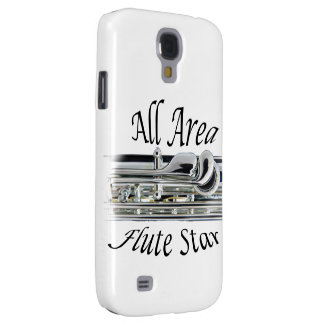 All State Area Flute Player Iphone, Ipad, Galaxy S4 Case