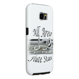 All State Area Flute Player Iphone, Ipad, Samsung Galaxy S6 Cases