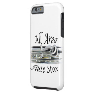 All State Area Flute Player Iphone, Ipad, Tough iPhone 6 Case