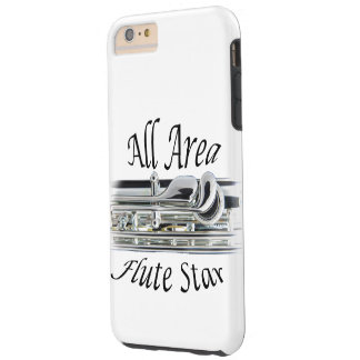 All State Area Flute Player Iphone, Ipad, Tough iPhone 6 Plus Case
