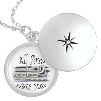 All State Area Flute Player Jewelry ANY COLOR